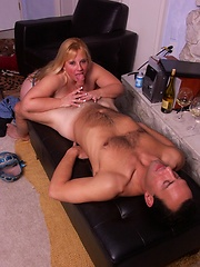 Big titted MILF gets pounded in her fat ass!