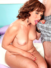 A Big Cock for the mature lady