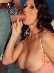 Hot 50 yo. Rita Cums Back For More!