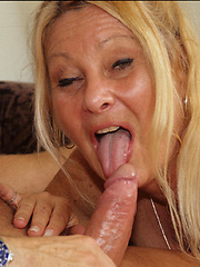 Hot 50 year old slut gets pounded in the backside!