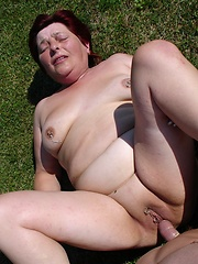 Dirty granny still loves to fuck!