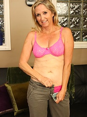 Anabella Brandy is a smokin hot granny who is ready to show all the tricks she has learned from years of sluttyness!