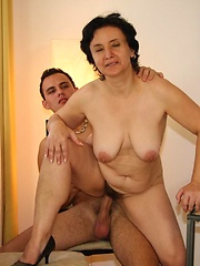 His young cock is destined to be inside her ancient pussy and it\\\\\\\'s a lot of fun to watch