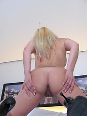 Housewife Silvia gets off on her toys