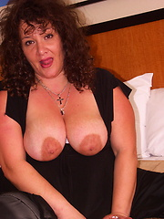 Big mama Joyce loves to suck cock hard