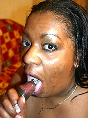 Massive ebony model shows off her big black booty and gets nasty pussy nailing from a black guy