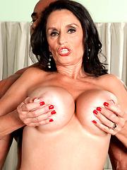 Rita Daniels is sexy 60 yo woman but she always want sex