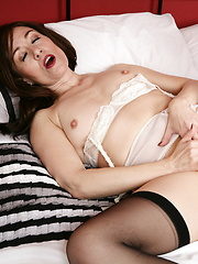Naughty British housewif getting wet and wild