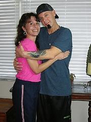 True Amateur Models Soccer Mom Blowjob And Cumshot