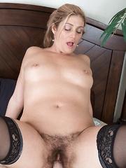 Alicia Silver has hot sex in her bedroom