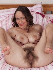Josie strips naked on her pink bed