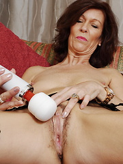 Horny housewife getting wet and wild