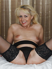 mature housewive having fun while the family is away