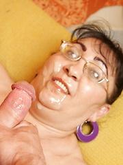 Chubby mama fucking her boy toy