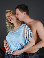 This German housewife loves to play around with her lover