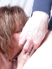 This naughty mature lady gets it in POV style