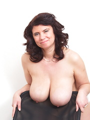 Big breasted housewife getting very naughty