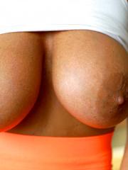 Sissy Gets Her Huge Tits Jizzed