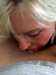 Wifey Jerks Cock And Eats Cum Shot