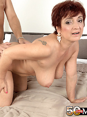 Big-titted Divorcee Jessica Is Hot For Cock