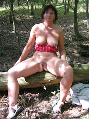 Its fun to meet such mature sluts in a forest