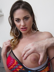 Hot big breasted Mom doing it in POV style
