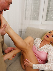 Hot housewife fucking her lover